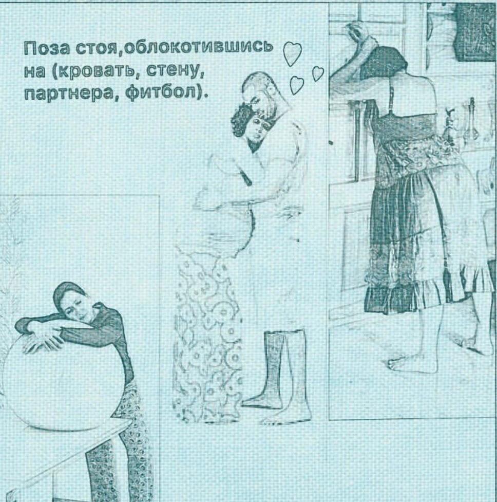 Позы в родах