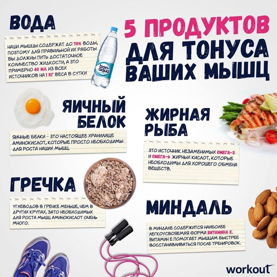 Для тонуса мышц