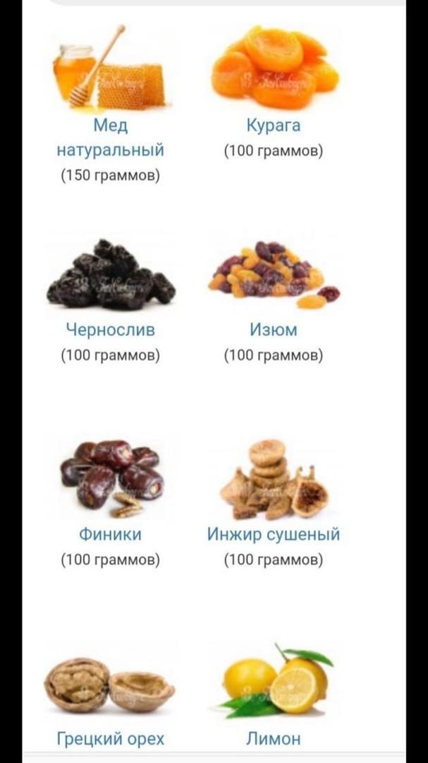 витаминная смесь